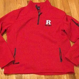 Rutgers Mens Quarter ZIP